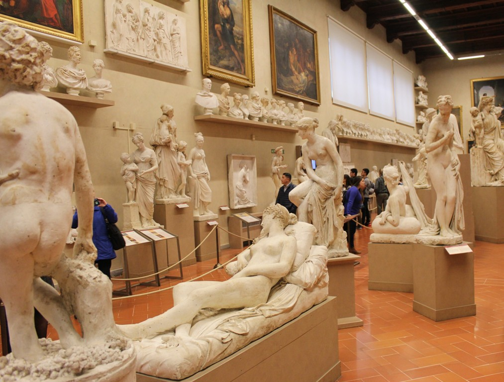 Florence Accademia Sculpture Room