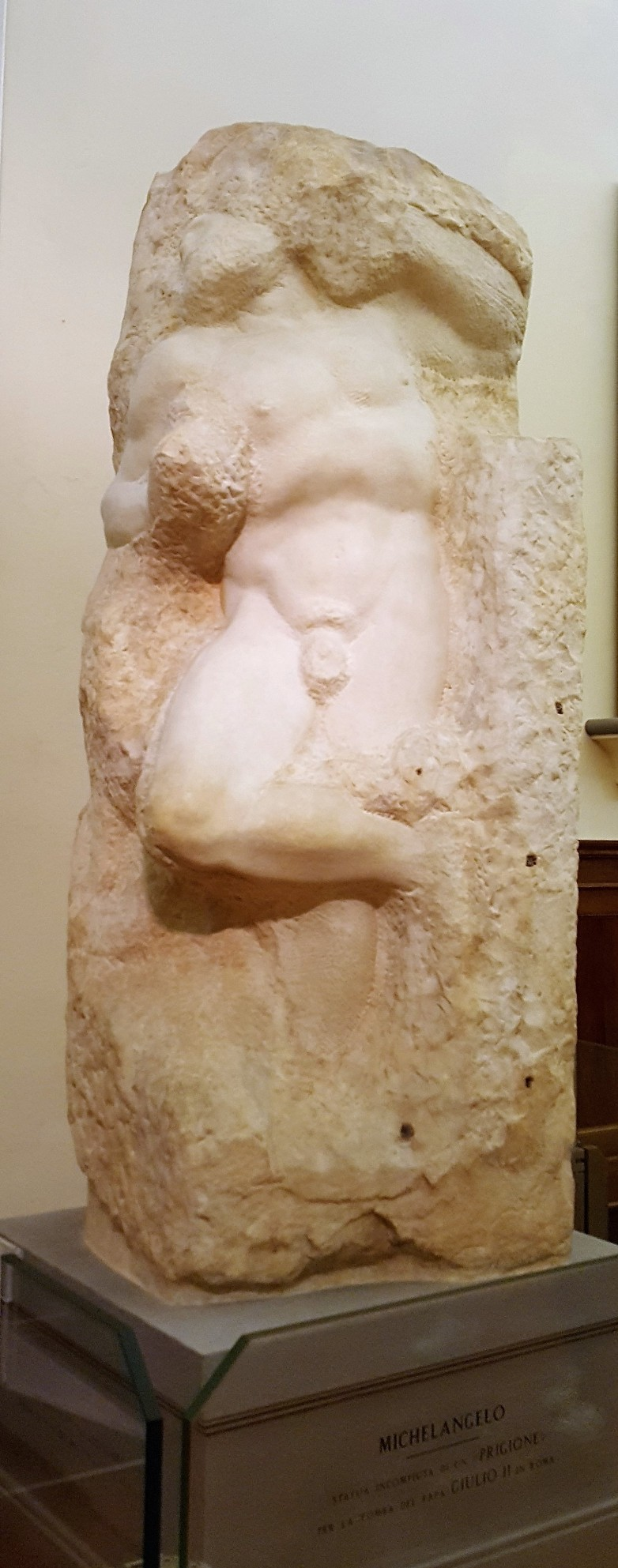 Young Slave Michelangelo Florence Accademia Slaves Prisoners